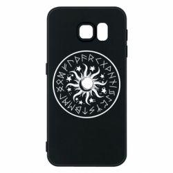 Чохол для Samsung S6 Sun in runes