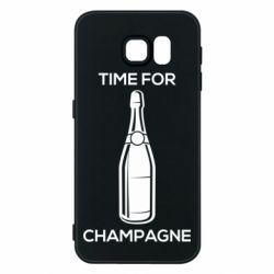 Чохол для Samsung S6 Time for champagne