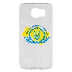 Чохол для Samsung S6 Україна Мапа
