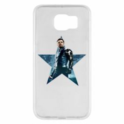 Чохол для Samsung S6 Winter Soldier Star