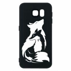 Чехол для Samsung S6 Wolf And Fox