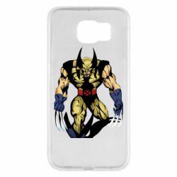 Чохол для Samsung S6 Wolverine comics