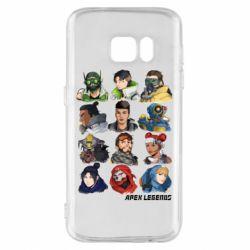 Чохол для Samsung S7 Apex legends heroes