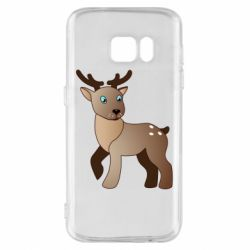 Чехол для Samsung S7 Cartoon deer
