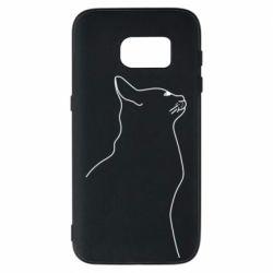 Чохол для Samsung S7 Cat line
