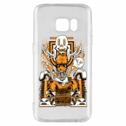 Чехол для Samsung S7 Deer On The Throne