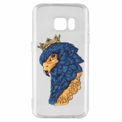 Чехол для Samsung S7 Eagle with a crown on its head