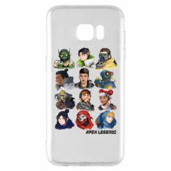 Чохол для Samsung S7 EDGE Apex legends heroes