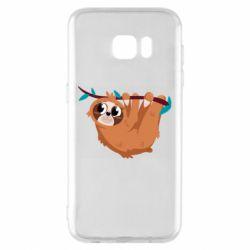 Чохол для Samsung S7 EDGE Cute sloth