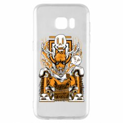 Чехол для Samsung S7 EDGE Deer On The Throne