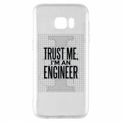Чохол для Samsung S7 EDGE Довірся мені я інженер