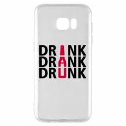 Чехол для Samsung S7 EDGE Drink Drank Drunk