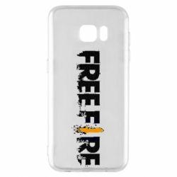 Чехол для Samsung S7 EDGE Free Fire spray
