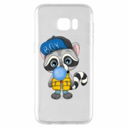 Чехол для Samsung S7 EDGE Little raccoon