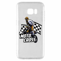 Чехол для Samsung S7 EDGE Motocross