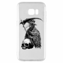 Чехол для Samsung S7 EDGE Plague Doctor graphic arts