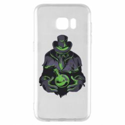 Чехол для Samsung S7 EDGE Plague Doctor