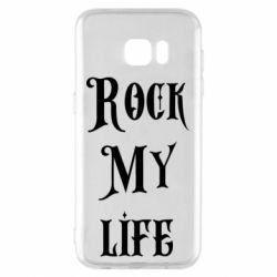 Чехол для Samsung S7 EDGE Rock my life