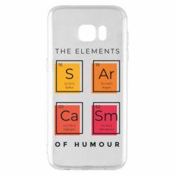 Чохол для Samsung S7 EDGE Sarcasm