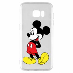 Чехол для Samsung S7 EDGE Smiling Mickey