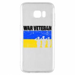 Чохол для Samsung S7 EDGE War veteran