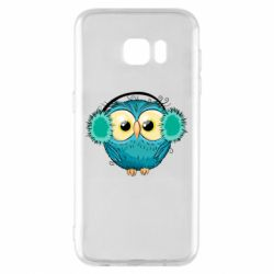 Чехол для Samsung S7 EDGE Winter owl