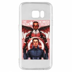 Чохол для Samsung S7 Falcon and the Winter Soldier Art