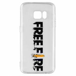 Чехол для Samsung S7 Free Fire spray