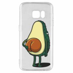 Чохол для Samsung S7 Funny avocado