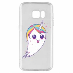 Чохол для Samsung S7 Ghost Unicorn