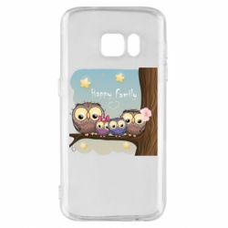 Чехол для Samsung S7 Happy family