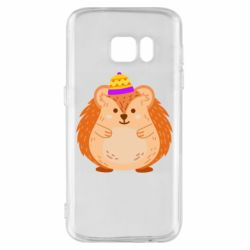 Чохол для Samsung S7 Little hedgehog in a hat