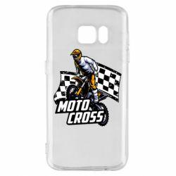Чехол для Samsung S7 Motocross