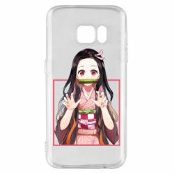 Чохол для Samsung S7 Nezuko