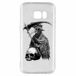 Чехол для Samsung S7 Plague Doctor graphic arts