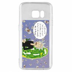 Чехол для Samsung S7 Rick Wiseau