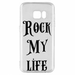 Чехол для Samsung S7 Rock my life