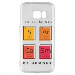Чохол для Samsung S7 Sarcasm