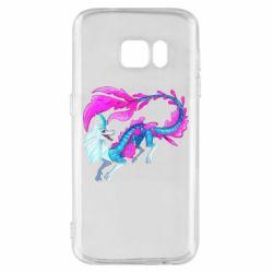 Чохол для Samsung S7 Sisu Water Dragon