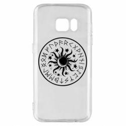 Чохол для Samsung S7 Sun in runes
