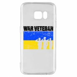 Чохол для Samsung S7 War veteran