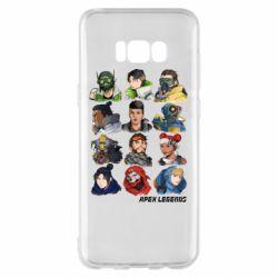 Чохол для Samsung S8+ Apex legends heroes