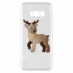 Чехол для Samsung S8 Cartoon deer