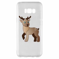 Чехол для Samsung S8+ Cartoon deer