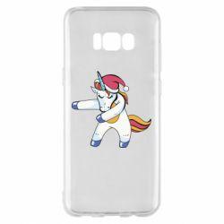 Чохол для Samsung S8+ Christmas Unicorn