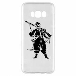 Чехол для Samsung S8 Cossack with a gun