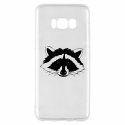 Чохол для Samsung S8 Cute raccoon face