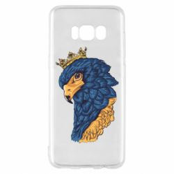 Чехол для Samsung S8 Eagle with a crown on its head