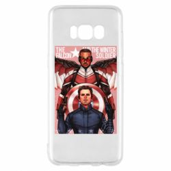 Чохол для Samsung S8 Falcon and the Winter Soldier Art