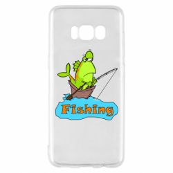 Чехол для Samsung S8 Fish Fishing
